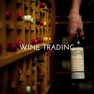 Trading wine, Wine Trading, Domaine Storage