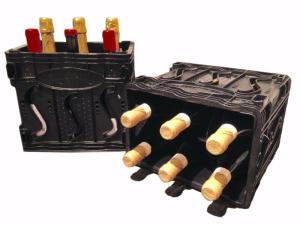 StorVino Wine Storage, Plastic Wine Storage Container