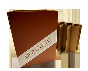 Upright Wine Storage Box – 12 bottles – 750 ML (QTY: 10 boxes) 6