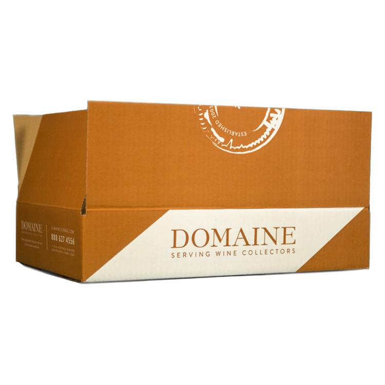 6 Pack Layflat Box – Domaine Cardboard Wine Storage Box Open Top